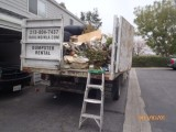 junk removal Commerce dump truck